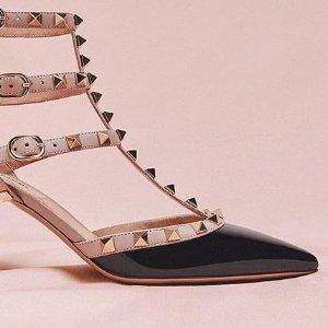 低至3折 £285收小白鞋Valentino 冬季惊喜折扣 超多款式铆钉鞋、铆钉包上新 小仙女必备