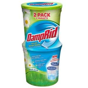 $4.49(原价$14.16)DampRid 除湿剂10.5盎司 2盒