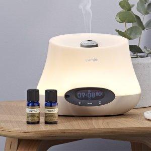 £112(原价£160)Lumie Iris 500 多功能自然光床头灯&香薰机&闹钟