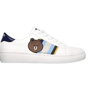 $39.34起(原价$145)Skechers 斯凯奇 Line系列小白鞋 $44.48收丘可熊小白鞋