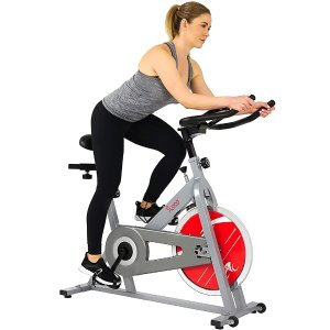 Sunny Health & Fitness Stationary Indoor Cycling Exercise Bike - SF-B1001/S