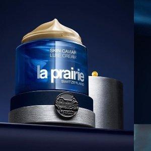 无门槛85折 £293.25收蓝鱼子面霜La Prairie 见证肌肤的时光驻足