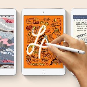$379起 包邮2019新款 iPad mini 64GB Wifi版 三色可选