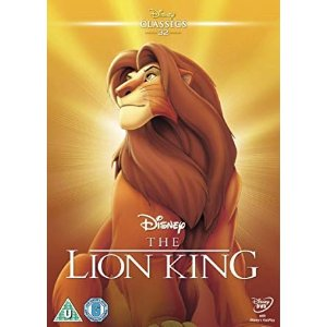 Disney狮子王动画版DVD