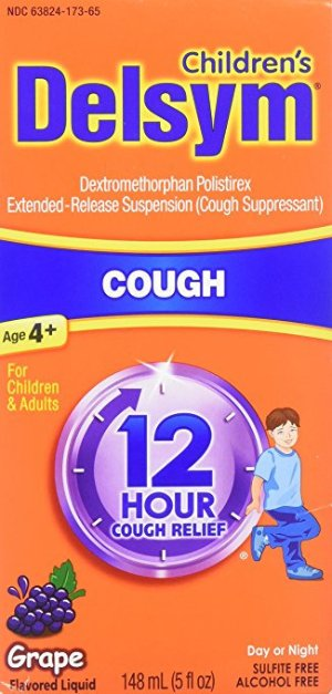 Children's 12 Hr Cough Relief Liquid, Grape, 5oz
