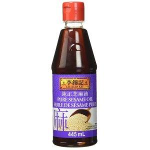 $4.99(大统华$7.99)Lee Kum Kee 李锦记 纯正芝麻油443ml 香味浓郁 营养价值高