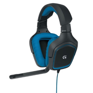 Logitech G430 USB Connector Circumaural Surround Sound Gaming Headset