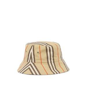 BurberryReversible Icon-stripe格纹渔夫帽