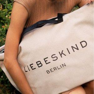 低至4.6折 封面爆款tote仅€58Liebeskind Berlin 包包闪促专场 德国本土轻奢品牌 超多爆款