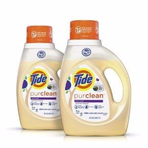$9.15包邮 销量冠军史低价:Tide Purclean 天然植物配方洗衣液 薰衣草香 100oz