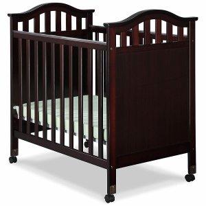 $99.99(原价$229.99)+无税Delta Bella 舒适婴儿床 棕色