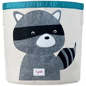 3 SproutsStorage Bin, Raccoon