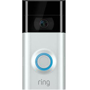 $93.99 包邮Ring Video Doorbell 2 智能可视门铃