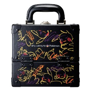 Shu Uemurapremium makeup box with Pikachu-inspired pattern – makeup box – shu uemura