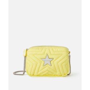 Stella McCartney黄色星星链条包