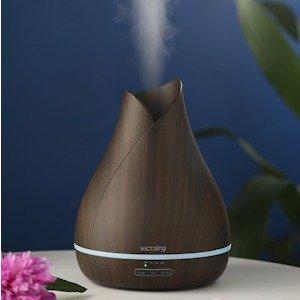 $29.88(原价$45.99)史低价:VicTsing 超声波冷雾香薰机/加湿器500毫升容量