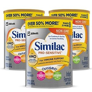40% Off + Extra 5% Off + Free ShippingSimilac Infant/Toddler Non-GMO Formula Sale
