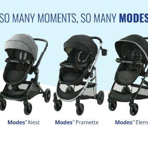 低至7折 3合1婴儿安全座椅$189黑五捡漏:Graco 葛莱婴儿安全座椅 折叠推车+提篮 $232起