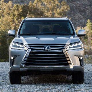 为啥豪华陆地巡洋舰更值2019 Lexus LX 570 大型豪华SUV