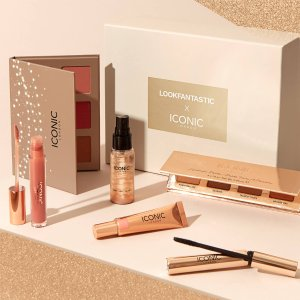 ¥360直邮中国(价值¥1100)Lookfantastic x ICONIC London 联名美妆礼盒