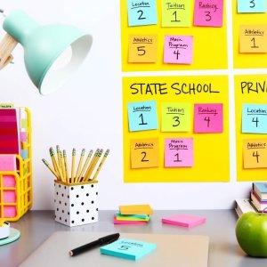 低至4折 8支装4色圆珠笔$4Catch 小文具热卖 在家办公、学习必备
