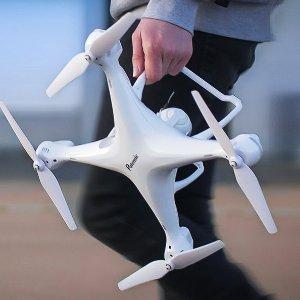 低至6.7折史低价:Potensic高清摄像无人机,带GPS