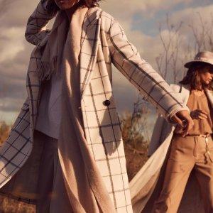 低至5折 封面上新Reiss年终大促 质感美衣限时促销