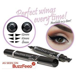 $9.97限今天:Lovoir 黑色防水眼线笔 10mm经典款 2只装