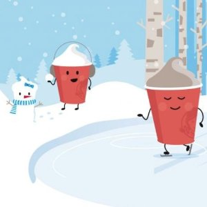 Every Day Buy a $2 Frosty Key Tag Get Free Small Smoothy