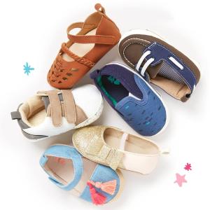 包邮 买一送一最后一天:OshKosh BGosh 童鞋 Doorbuster 优惠 新鞋款已经上市 凉鞋也有