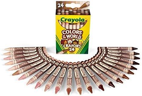 世界色彩 24肤色系蜡笔