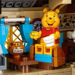 $99.99+满额送礼 独家送小鸡补货:LEGO IDEAS系列 Winnie the Pooh 21326