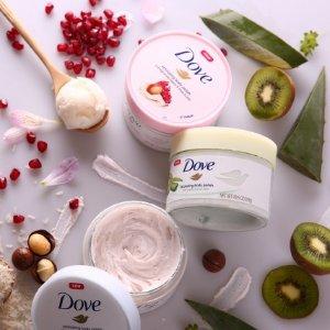 低至$5.67(原价$8.27)Dove 多芬冰淇淋磨砂膏热卖 变身仙女肌 温和去角质