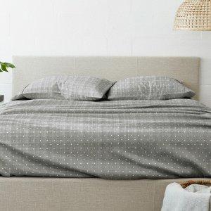 Ultra Soft 4-Piece King Sheet Set - Gray