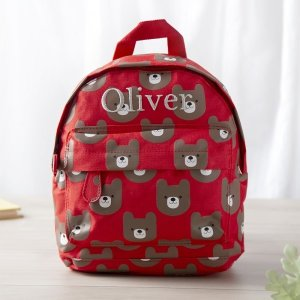 My 1st Years20% Off for $100+Personalized Red Bear Backpack