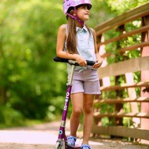 7-8折包邮 全年最好折扣瑞士米高 Micro儿童升降型滑板车热卖,都夸顺滑好骑