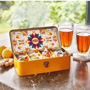 精致铁盒 仅售€9.99Lipton 混合茶包礼盒装40包入