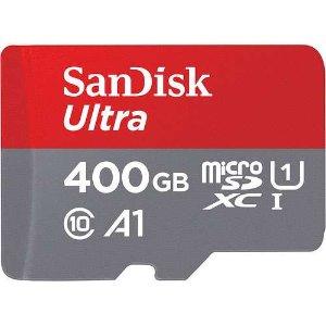 $69.95(原价$89.99)SanDisk 400GB Ultra 内存卡 游戏随便装