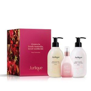 Jurlique新用户注册后可享用8.5折!玫瑰系列畅销套组