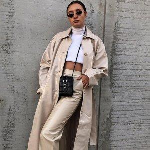 低至3折 一字领上衣€8.49ASOS 女装精选大促 收西装外套、匡威、阿迪达斯等