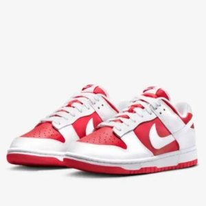 $100Nike Store Dunk Low Championship Red