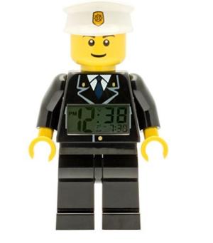 $27.13(原价$33.59)LEGO 乐高City 9002274 警察闹钟