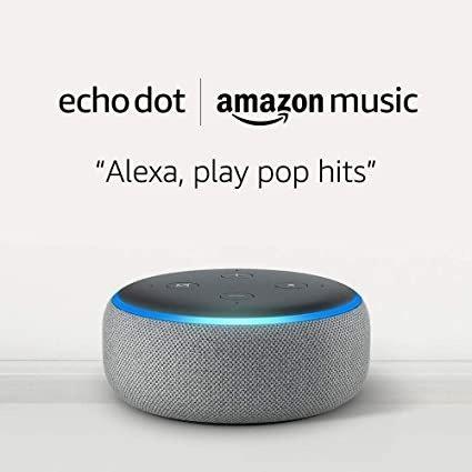 Echo Dot (3rd Gen) +2 个月 Amazon Music Unlimited