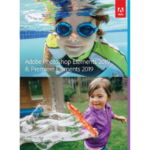 $89.99 (原价$149.99)Adobe Photoshop Elements 2019 & Premiere Elements 2019 (DVD/下载码, Mac/Windows)