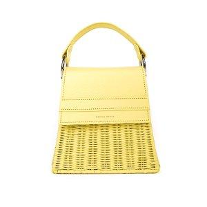 Yellow Lian 迷你草编包