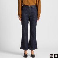 Uniqlo U系列 微喇叭牛仔裤