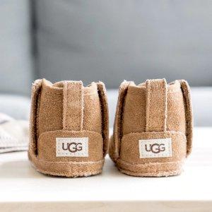 4.5折起 反季囤货更划算UGG 捡漏特卖 可爱毛茸茸家居鞋、保暖耳罩、家居服都参加