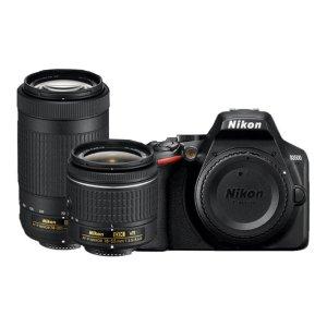 $446.95Nikon D3500 + 18-55mm 70-300mm 镜头 入门级单反套装