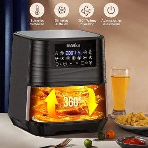 折后€101.99 满口酥脆INNSKY 数字式空气炸锅热卖 油炸食品也可以很健康哦