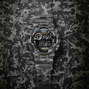 7折 $111.27(原价$159.39)手慢无:Casio G-Shock GD120CM-8 迷彩运动手表